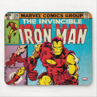 Iron Man Comic #126 Mouse Pad