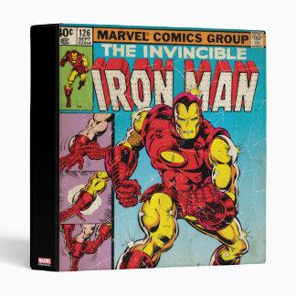 Iron Man Comic #126 Vinyl Binder