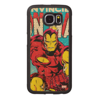 Iron Man Comic #126 Wood Phone Case