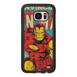 Iron Man Comic #126 Wood Samsung Galaxy S7 Case