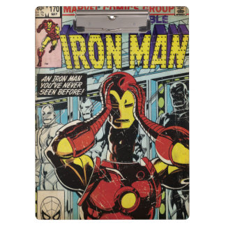 Iron Man Comic #170 Clipboards