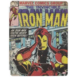 Iron Man Comic #170 iPad Cover