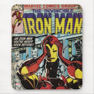 Iron Man Comic #170 Mouse Pad