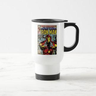 Iron Man Comic #170 Travel Mug