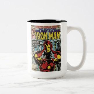 Iron Man Comic #170 Two-Tone Coffee Mug