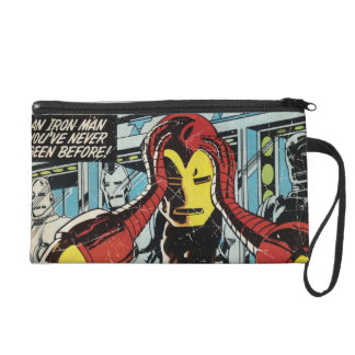 Iron Man Comic #170 Wristlet Purses