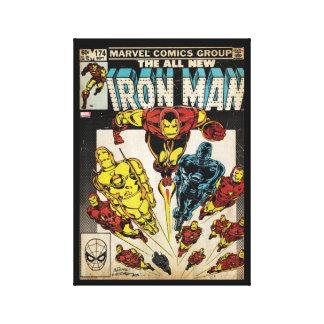 Iron Man Comic #174 Canvas Print