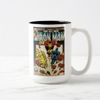 Iron Man Comic #174 Two-Tone Coffee Mug