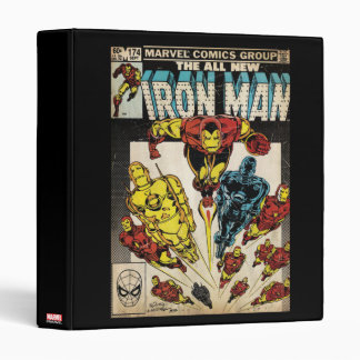 Iron Man Comic #174 Vinyl Binder