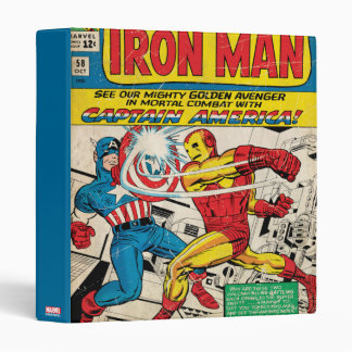 Iron Man Comic #58 3 Ring Binder