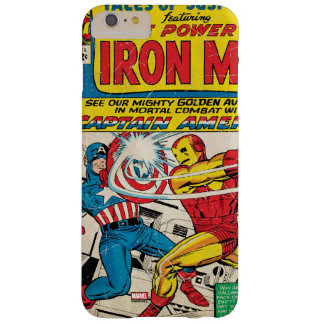 Iron Man Comic #58 Barely There iPhone 6 Plus Case