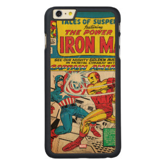 Iron Man Comic #58 Carved® Maple iPhone 6 Plus Case