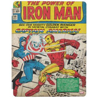 Iron Man Comic #58 iPad Cover