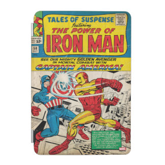 Iron Man Comic #58 iPad Mini Cover