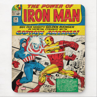 Iron Man Comic #58 Mouse Pad