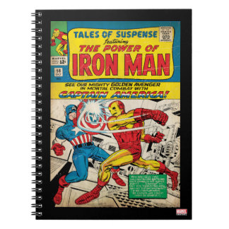 Iron Man Comic #58 Notebook