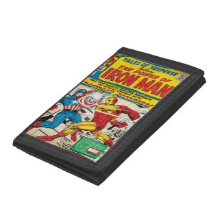 Iron Man Comic #58 Tri-fold Wallets