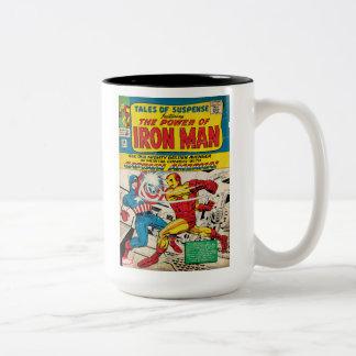 Iron Man Comic #58 Two-Tone Coffee Mug