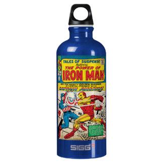 Iron Man Comic #58 Water Bottle