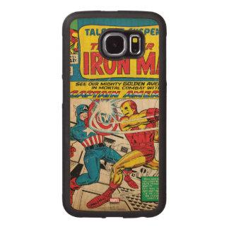 Iron Man Comic #58 Wood Phone Case