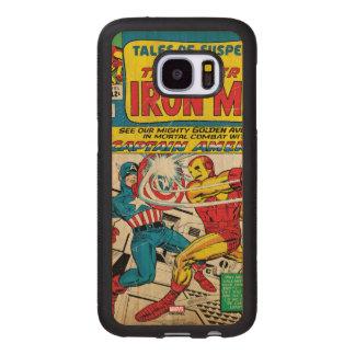 Iron Man Comic #58 Wood Samsung Galaxy S7 Case