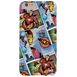Iron Man Comic Panels Barely There iPhone 6 Plus Case