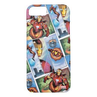 Iron Man Comic Panels iPhone 7 Case