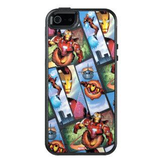 Iron Man Comic Panels OtterBox iPhone 5/5s/SE Case