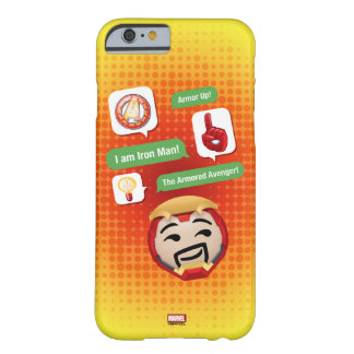 Iron Man Emoji Barely There iPhone 6 Case