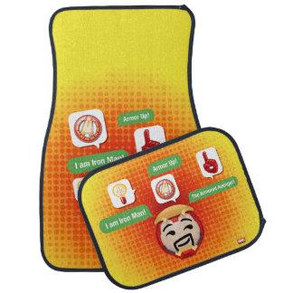 Iron Man Emoji Car Mat