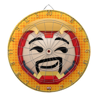Iron Man Emoji Dart Board