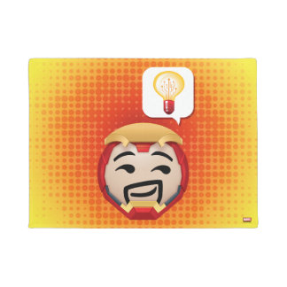 Iron Man Emoji Doormat