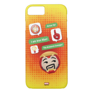 Iron Man Emoji iPhone 8/7 Case