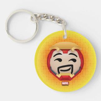Iron Man Emoji Keychain