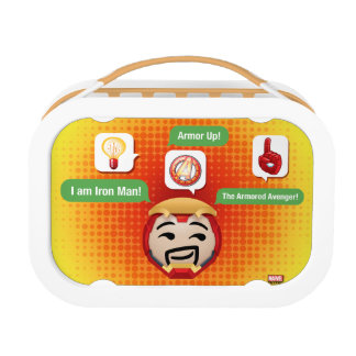 Iron Man Emoji Lunchbox