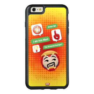 Iron Man Emoji OtterBox iPhone 6/6s Plus Case