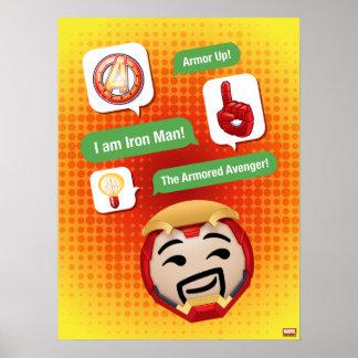 Iron Man Emoji Poster