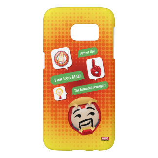 Iron Man Emoji Samsung Galaxy S7 Case