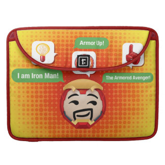 Iron Man Emoji Sleeves For MacBook Pro