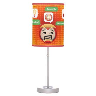 Iron Man Emoji Table Lamp