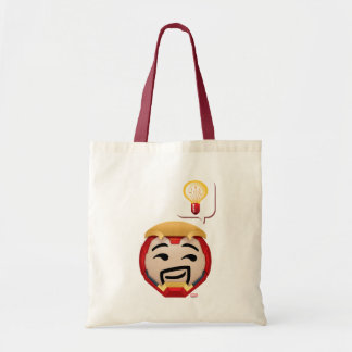 Iron Man Emoji Tote Bag