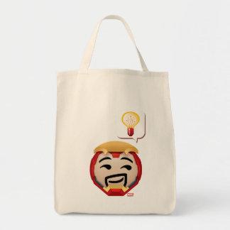 Iron Man Emoji Tote Bag
