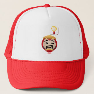 Iron Man Emoji Trucker Hat