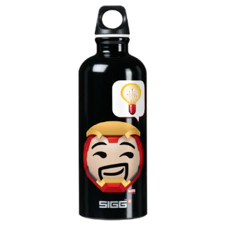 Iron Man Emoji Water Bottle