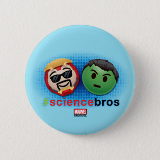 Iron Man & Hulk #sciencebros Emoji 2 Inch Round Button