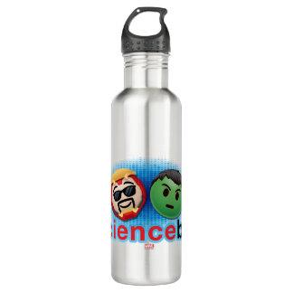 Iron Man & Hulk #sciencebros Emoji 710 Ml Water Bottle