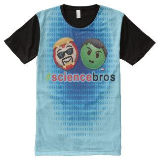 Iron Man & Hulk #sciencebros Emoji All-Over-Print T-Shirt