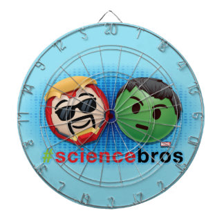Iron Man & Hulk #sciencebros Emoji Dartboard With Darts