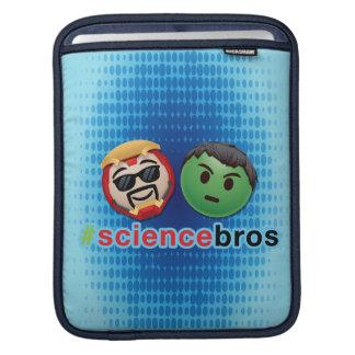 Iron Man & Hulk #sciencebros Emoji iPad Sleeve