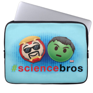 Iron Man & Hulk #sciencebros Emoji Laptop Sleeve
